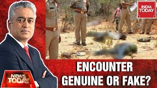Hyderabad Encounter: Shootout Genuine Or Fake? | News Today With Rajdeep