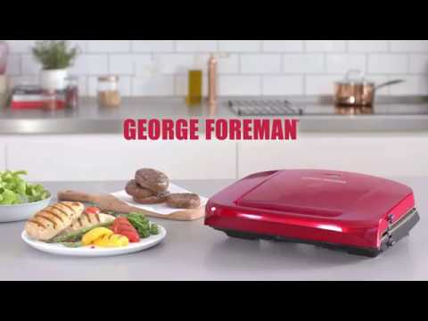 George Foreman Easy to Clean Grill – Healthy Eating Made Easy |  The Good Guys