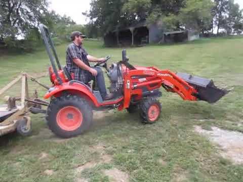 Kioti CK20 MFWD Tractor W/Loader And 5 Attachments BigIron