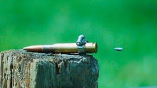 Explotando un 50 BMG con una Bala 22