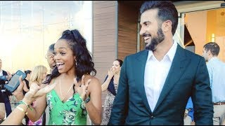 The Bachelorette's Rachel Lindsay and Bryan Abasolo On Their Wedding | Celebrity Page
