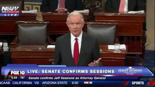 FULL: Jeff Sessions Speech After Senate Confirmation For US Attorney General (FNN) thumbnail