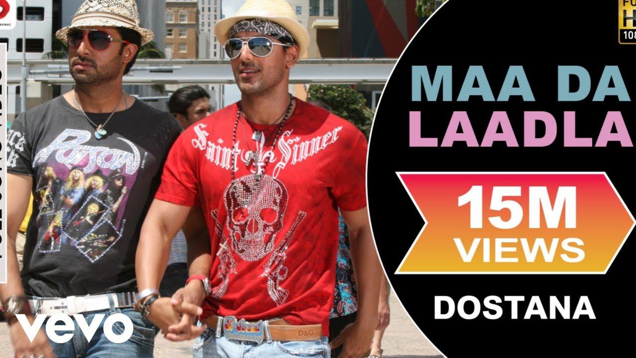 Maa Da Laadla Full Video - Dostana|John, Abhishek|Master Saleem|Vishal &  Shekhar