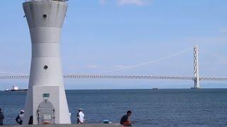 【【JR舞子駅から明石まで2016】6/2(木) 線路周辺・日常の風景