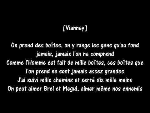 Maître Gims et Vianney - La même paroles