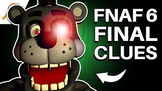 FNAF 6: The UNRESOLVED Lore! (Five Nights at Freddy's: Pizzeria Simulator Theory) | SwankyBox