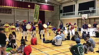 昭和地区祭り2019 @桃園第二小学校 東京中野区新風エイサー #エイサー #沖縄