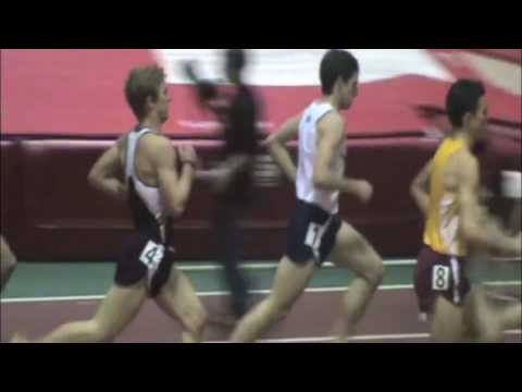 MU Men's Indoor 3000m Freshman Record - Spencer Agnew