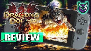 Dragon's Dogma: Dark Arisen Switch Review - MASSIVE ADVENTURE AWAITS! (Video Game Video Review)