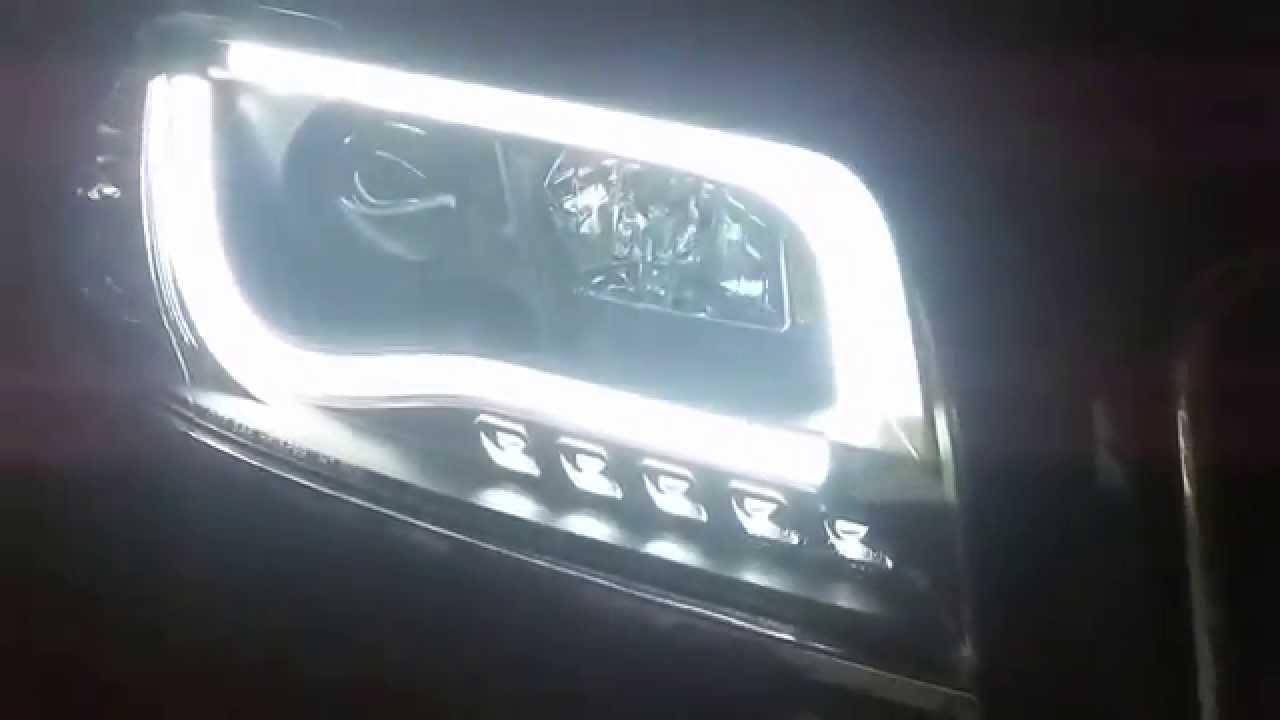 Audi A6 C5 Led Headlights Youtube
