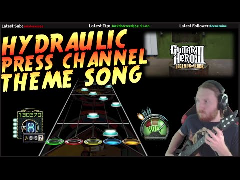Hydraulic Press Channel 100% FC (Guitar Hero Custom - Chart by Rek3dge)