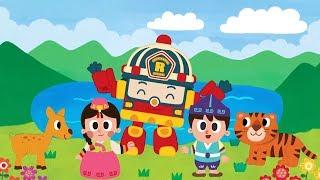 Робокар Поли - Горы и реки мира (Rivers and mountains of the World)  - Детская песенка