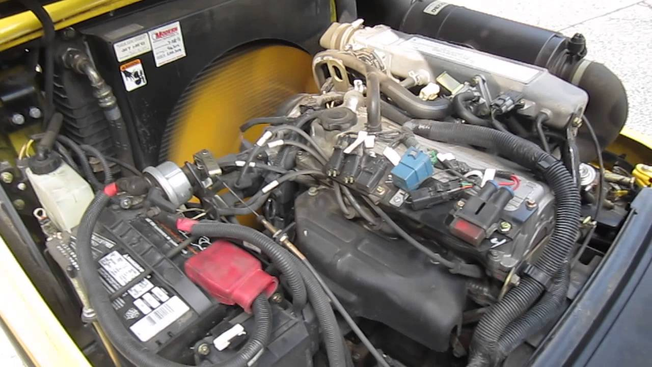 Hyster H50ft Engine Youtube Wiring Harness Toyota 8fgu25