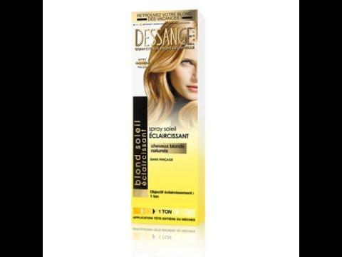 revue spray claircissant dessange - Eclaircissant Cheveux Colors