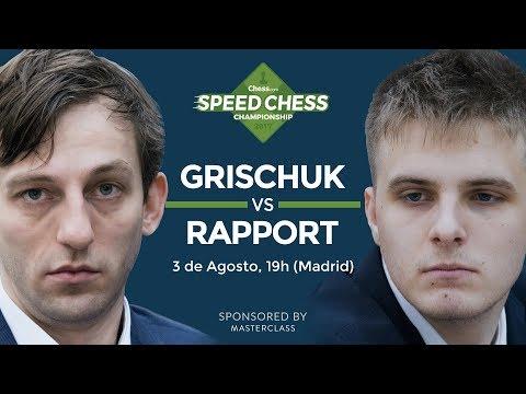 Retransmisión de ajedrez: Speed Chess 2017. Grischuk - Rapport