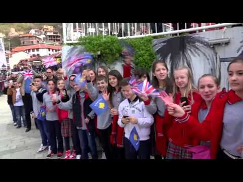 Royal Visit Western Balkans - Kosovo