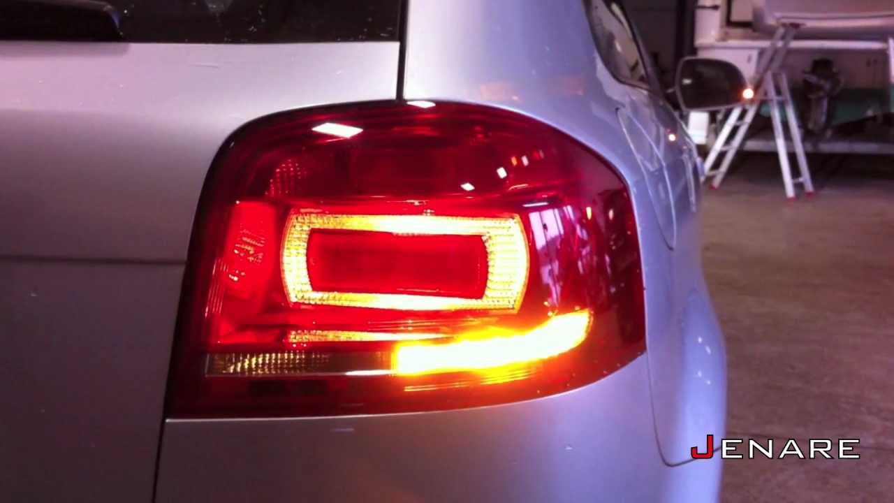Audi S3 A3 8p Facelift Clignotant Arri 232 Re Led Youtube