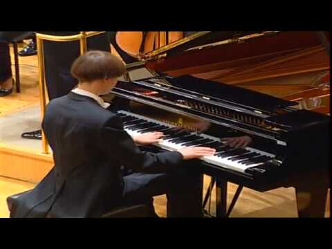 Tchaikovsky Piano Concerto, 1st Movement 1/3 (Mihkel Poll)