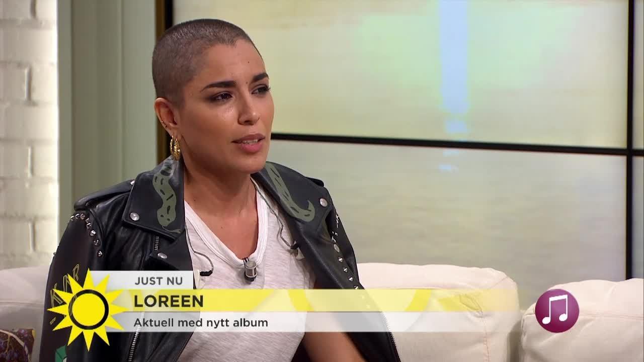 Loreen har ny frisyr