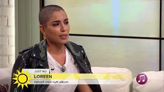 Loreens förvandling - vill inte gömma sig längre - Nyhetsmorgon (TV4)