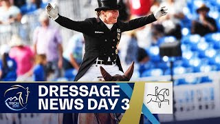 Isabell Werth ahead of Graves & Dujardin | Dressage News Day 2 | FEI World Equestrian Games 2018