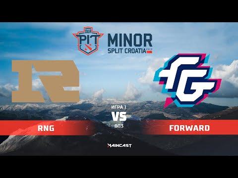 Royal Never Give Up vs Forward Gaming (карта 1), OGA Dota PIT Minor 2019,   Групповой этап