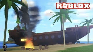 ROBLOX MAD CITY PIRATE SHIP