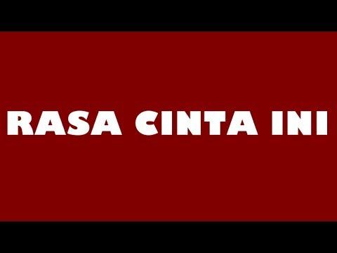 Bangsoda - Rasa Cinta Ini ( Lirik ) | Full HD |