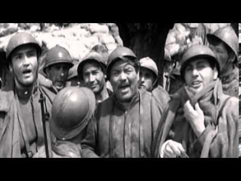 """La Grande Guerra (Mario Monicelli, 1959) con A.Sordi e V.Gassman - """"Il rancio"""""""
