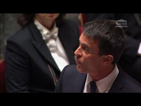 Loi travail: Valls annonce à l'Assemblée le recours au 49-3
