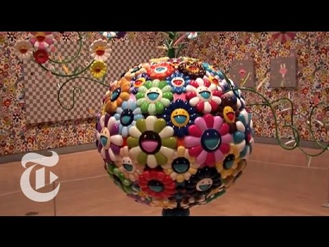 Murakami at the Brooklyn Museum | The New York Times