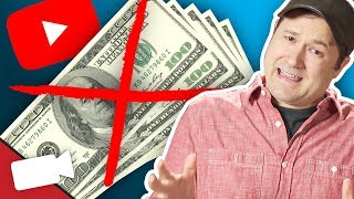 5 Reasons You're Not Making Money on YouTube