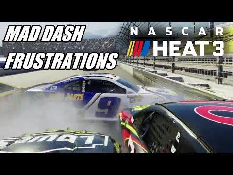 Mad Dash Frustrations! | NASCAR Heat 3 [Challenges] Part 14