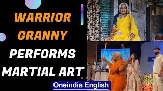 Warrior granny | Pune's Shnatabai Pawar awarded by Arvind Kejriwal | Oneindia News