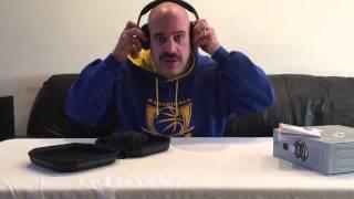 unboxing a audio icon bluetooth headphones