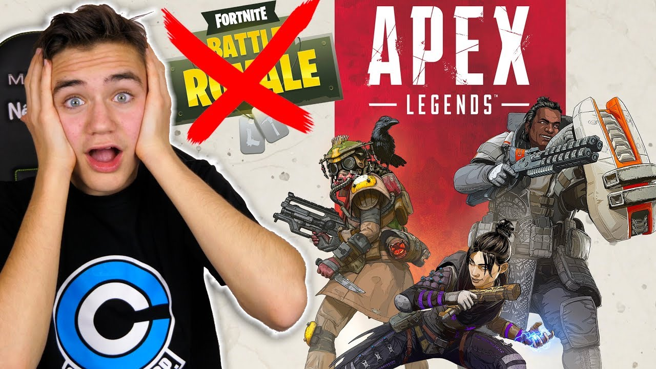 JE TESTE APEX LEGENDS ! MIEUX QUE FORTNITE ? - Néo The One