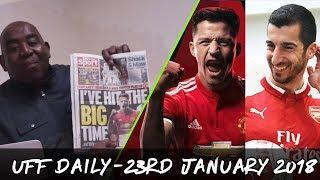 Sanchez & Mkhitaryan Complete Moves & Swansea Shock Liverpool! | UFF Daily