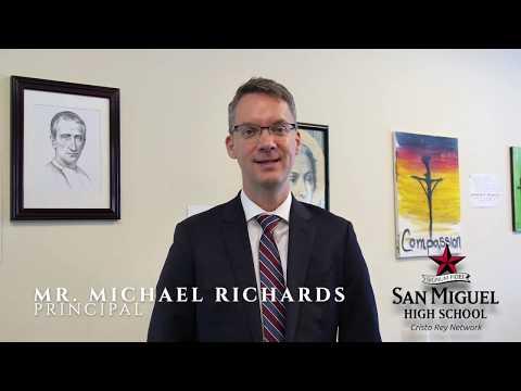 San Miguel High School Welcomes New Principal