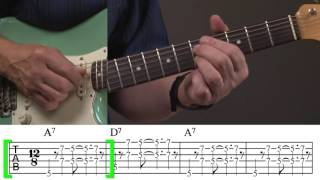 Video Rhythm Guitar Lesson for Blues download MP3, 3GP, MP4, WEBM, AVI, FLV November 2017
