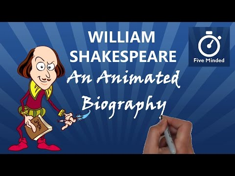 An Animated Biography of William Shakespeare