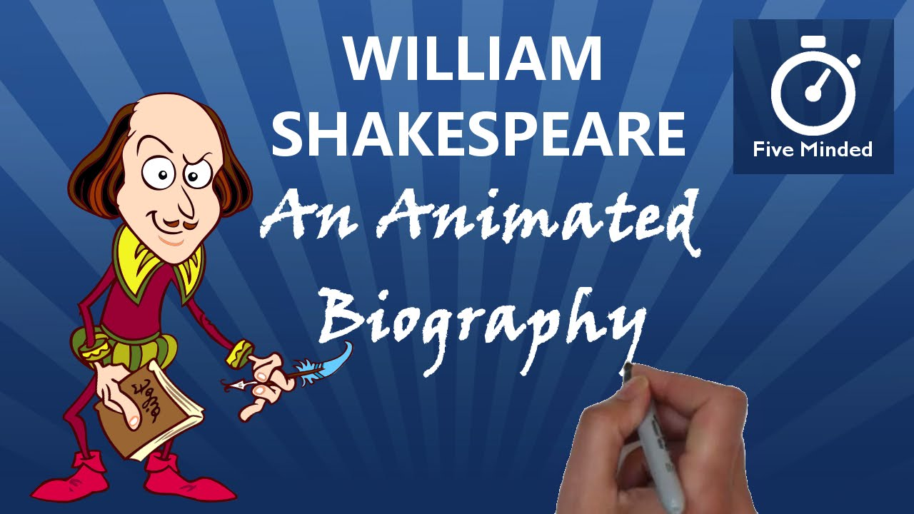how to write a william shakespeare biography