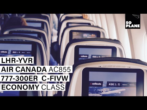 TRIP REPORT | Air Canada | 777-300ER | London Heathrow to Va