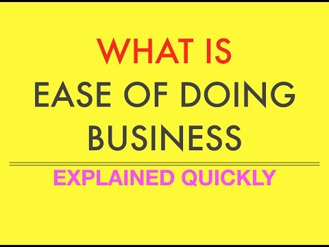Current Affairs    Explained - Ease of Doing Business Report    UPSC    IAS