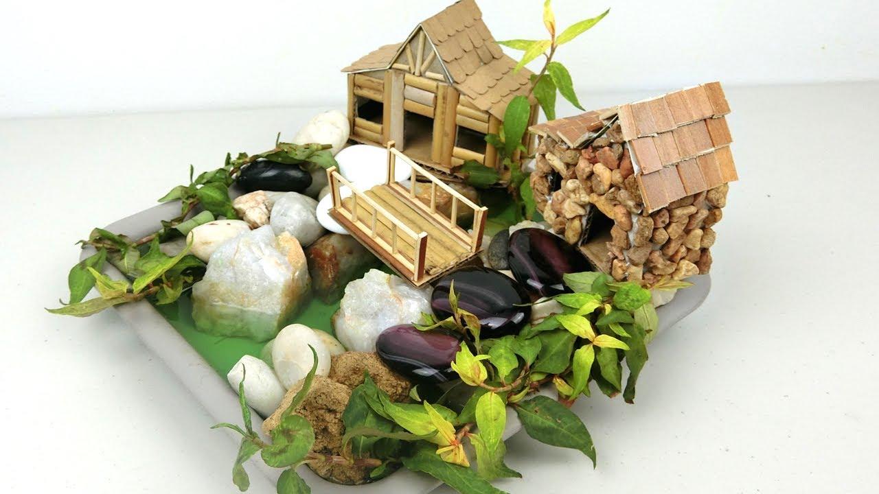Diy Mini Fairy House Garden 7 Easy Crafts Ideas Youtube