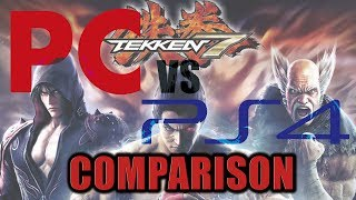 Tekken 7 - Online Issues, Input Lag & PC/PS4 Versions Compared
