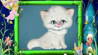 Песенка белого  пушистого котенка