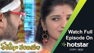 Sasirekha Parinayam (శశిరేఖా పరిణయం) Episode 709 ( 14 - Sep - 2016 )