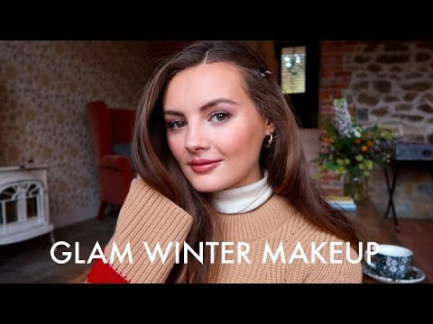 GLAM WINTER MAKEUP thumbnail