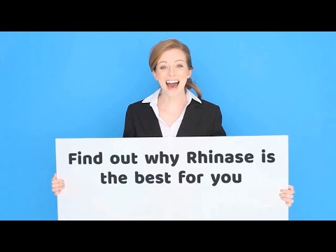 Rhinase Spray for nasal dryness caused by allergies, nosebleeds