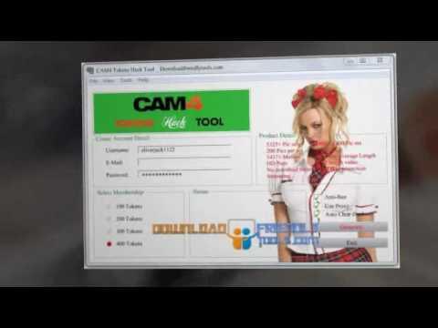 Cam 4 Token Generator